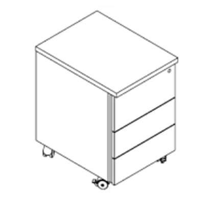 Bloco-Rodado-de-3-Gavetas--410x530x600-mm-