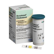 Testes para Accutrend GCT Tiras Colesterol Caixa 25