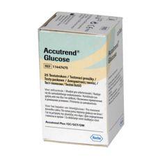 Testes para Accutrend GCT Tiras Glucose Caixa 25