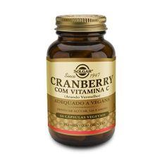 Cranberry com Vitamina C (60 Cápsulas)