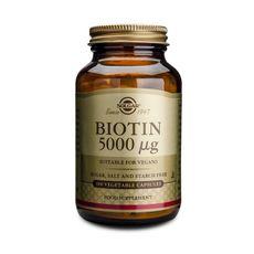 Biotina 5000 mcg 100 cápsulas