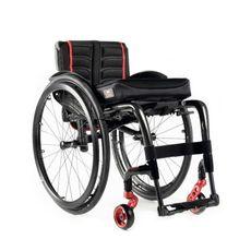 Cadeira de Rodas Ativa Dobrável em Carbono Krypton F